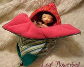 CUSTOM listing for Sjaan, 1 Leaf flowerbeds for PKF  (16-19cm doll)