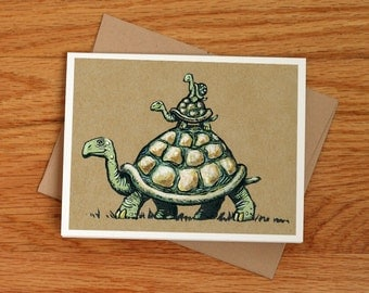 Big Daddy Tortoise, fathers day card