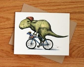 Daddy T Rex, individual card.