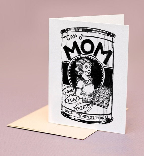 Can o' Mom, mother's day card