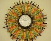 School Days (2 ft in diameter clock)