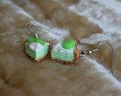 Key Lime Pie Dangle Earrings