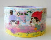 Karaoke Girl Large Deco Tape