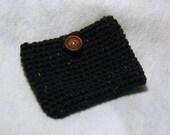 Ipod/iphone/camera case (brown tweed)