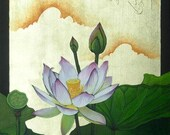 Lotus Jewel 8x10 inch limited edition prints in 11x14 inch double white mat