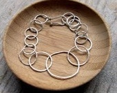 RESERVED LISTING FOR SARA - Modern Circle Bracelet