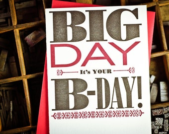 Big Day, Happy B-Day by The Permanent Collection