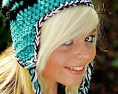 Crochet pattern Knotty Earflap Beanie PDF 27