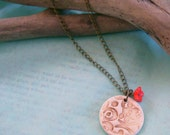 Esther - Ceramic Pendant Necklace