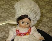 RESERVED FOR JULIE Vintage Madame Alexander Doll, Norway
