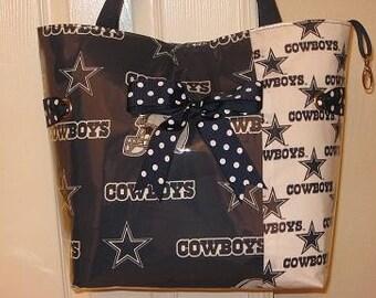Large Dallas Cowboy Tote