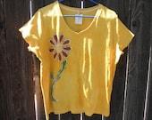 Sunflower Batik Shirt