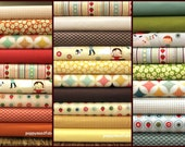Fly a Kite full Collection Fat quarter bundle by October Afternoon and Riley Blake,  22 total