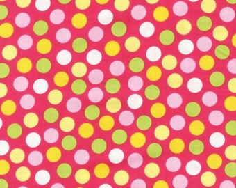 Urban Zoologie by Ann Kelle for Robert Kaufman, Multi dots Bright 1/2 yd