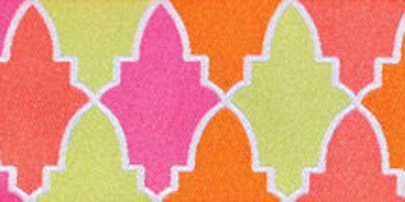 Grand Bazaar ribbon from Patty Young, Persian Wall Honeysuckle - 1 yard