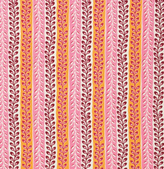 YARD SALE..... Flea Market Fancy--legacy collection,  Seedpod Stripe Pink from Denyse Schmidt, 1 yard