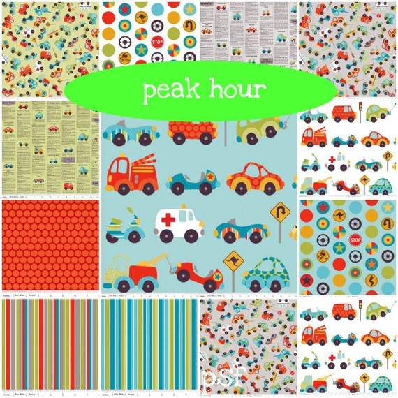 from Kellie Wulfsohn for Riley Blake, Peak Hour -Create Your Own FQ Bundle 4 total
