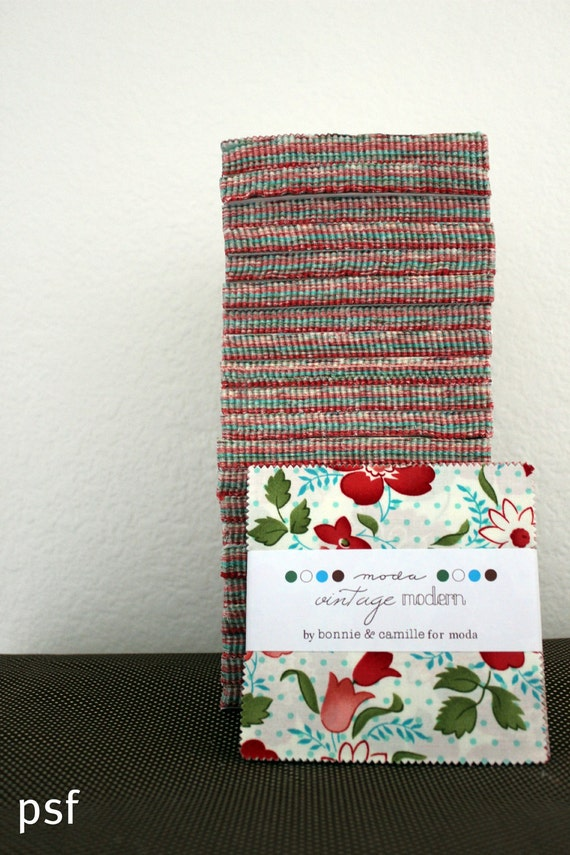 Vintage Modern charm by Bonnie and Camille for Moda Fabrics, charms packs - one pack