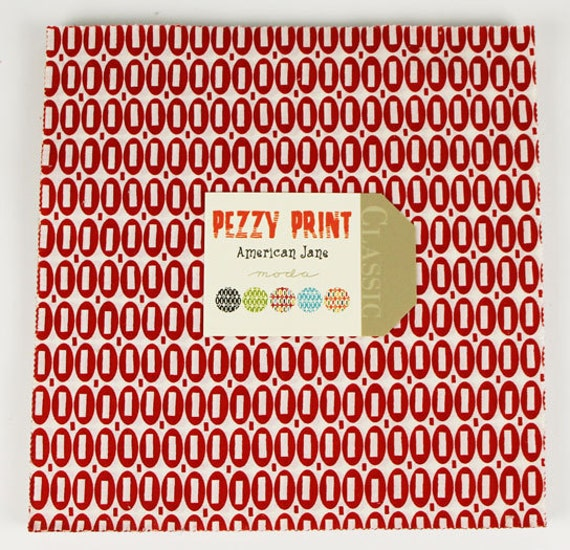 "SALE... 10% OFF Pezzy Print by American Jane for Moda ENTIRE Collection - Layer Cake 10"" squares  42 total"