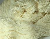 UNDYED Organic Worsted Merino Yarn in Hanks