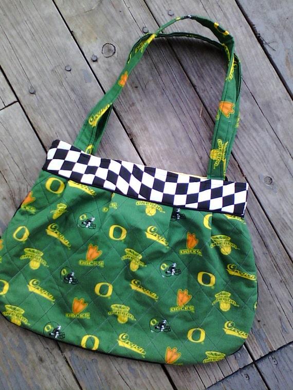 Oregon Duck Fan Purse or Diaper Bag