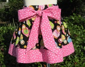Adorable Matryoshka Doll Boutique Bow Twirl Skirt