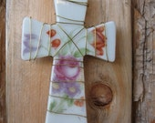 cross- flowered and wire wrapped