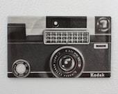 Vintage Kodak Camera Magnet: Retro Magnet made from Vintage Magazine Advertisement, Paper Ephemera - FREE US SHIPPING