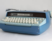 Vintage Smith Corona Coronet 10 Electric Typewriter: Vintage Seventies, Case and Key Included, Works