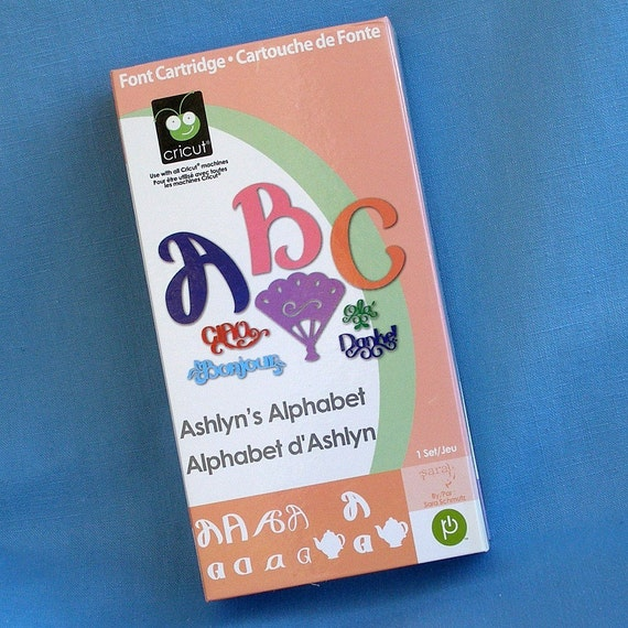 Cricut Cartridge Ashlyn's Alphabet FREE Shipping
