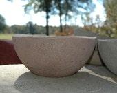 Rustic Handmade Hypertufa Planter - Round