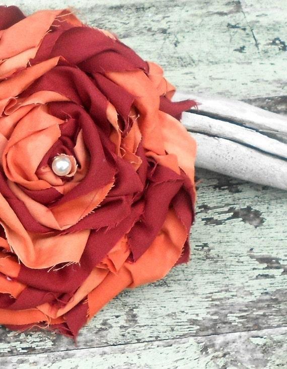 Rose pin, shabby rose brooch, wedding jewelry, handmade flower brooch, women's romantic jewelry, true rebel clothing