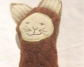 Plush Cat  - Eco Friendly Kitty Softie - Ready to Ship