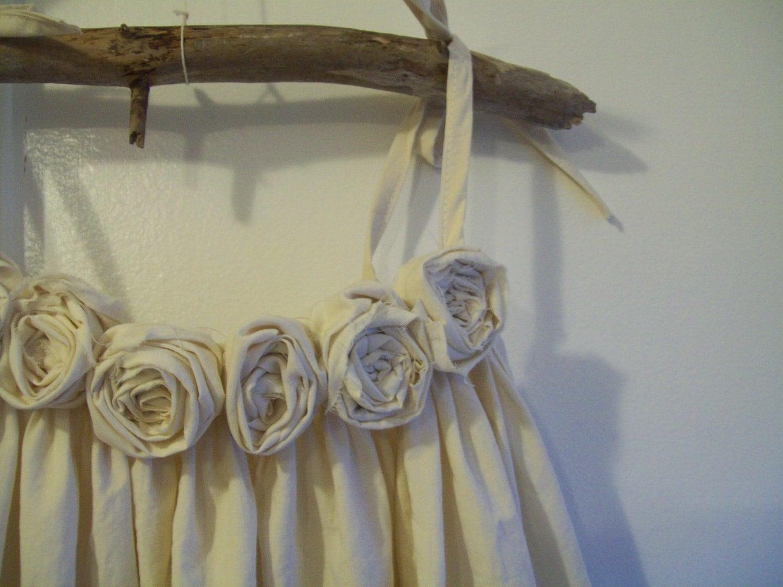 Rustic flower girl dress country flower girl dress beach
