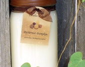 16oz Mason with Rustic Lid ...Choose your scent....Triple Scented to the MAX...Dye Free