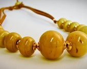 Green Mustard Necklace