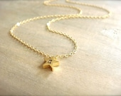 Custom Initial Gold Star Necklace - REVERSIBLE - Bride, Bridal, Bridesmaid gift, Wedding, Mother's Day