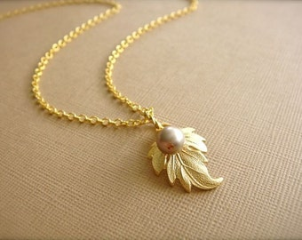 Golden Ivy Necklace