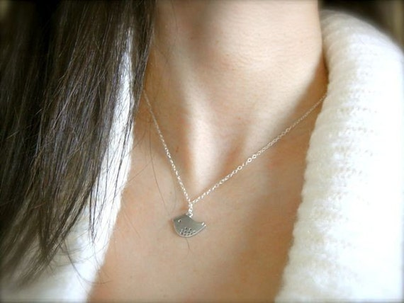 Little Birdie Necklace