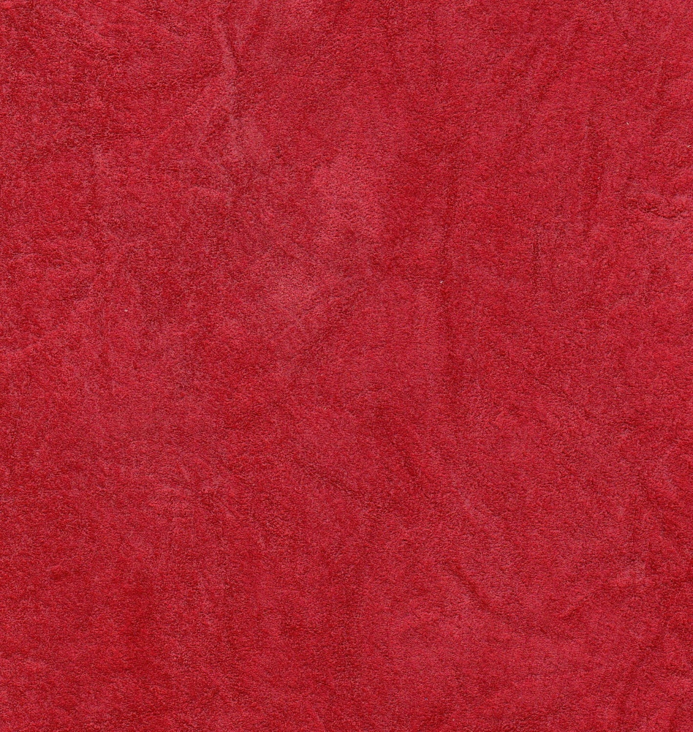 2485 recycled 100 genuine suede leather medium rose for Red leather fabric
