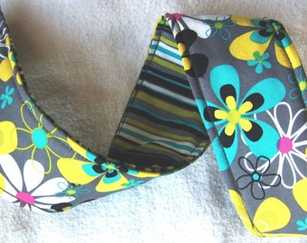 Camera Strap Cover ... REVERSIBLE ... You PICK your favorite Michael Miller Fabric from this Set