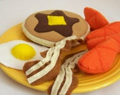 Pancake Breakfast Set - Felt Play Food
