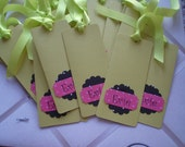 Baby Shower Part two Personalized Bookmarks