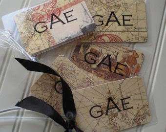 Masculine Bag Tags