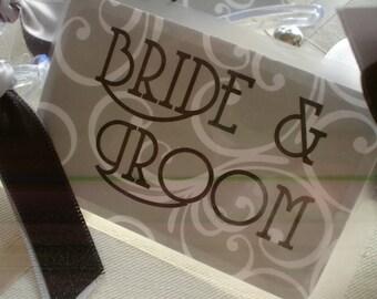 Bride and Groom  BagTags