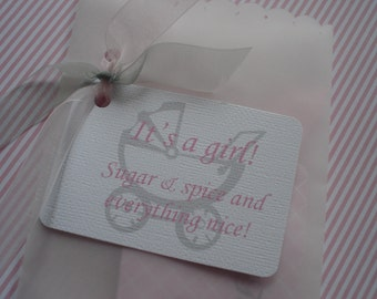 Personalized Tags for baby Shower Gifts, Favors