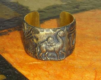 Bracelet / Cuff - Camel Power