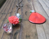 PATCH Tagua and Crystal Charm Lariat