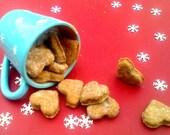 Organic Almond & Honey Dog Biscuits - - wheat free