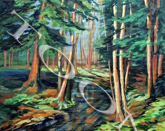 """SALE - Forest, 16""""x20"""""""